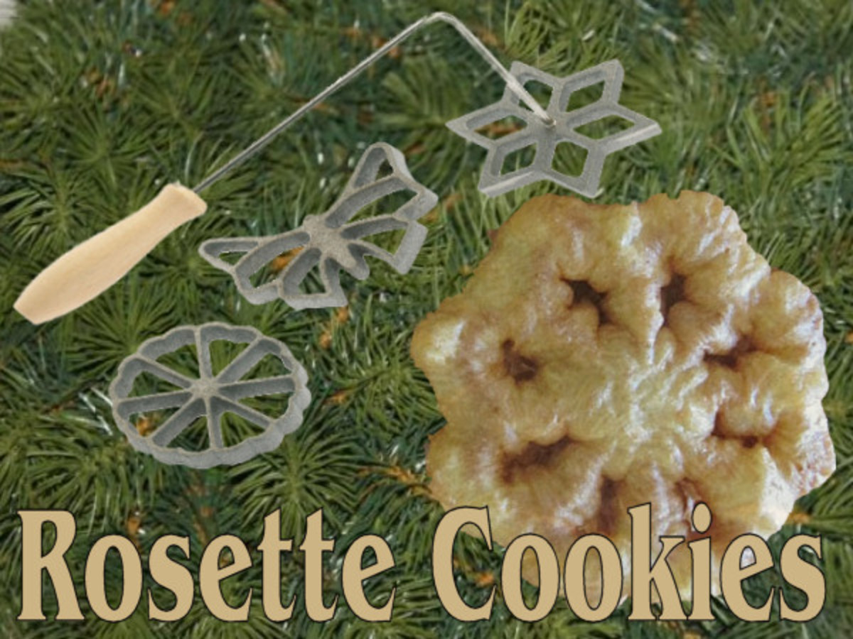 Rosette Cookies Christmas