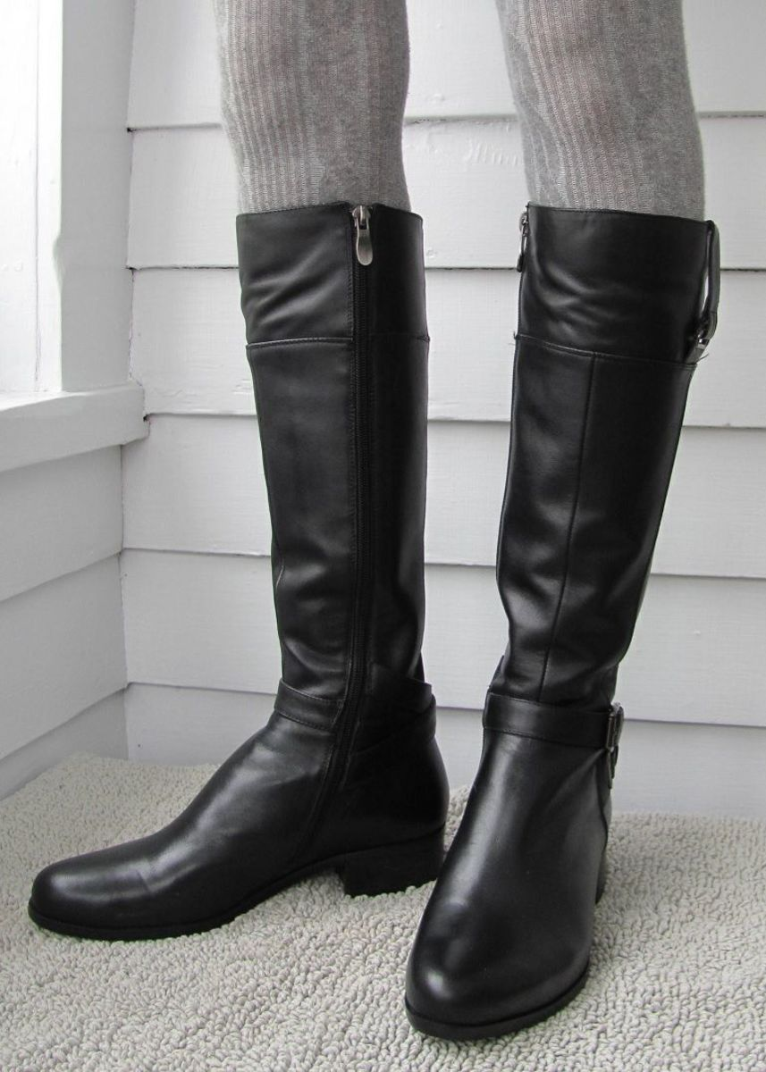 "The Solemani ""Gabi"" is one of the tightest-fitting riding boots I've found."