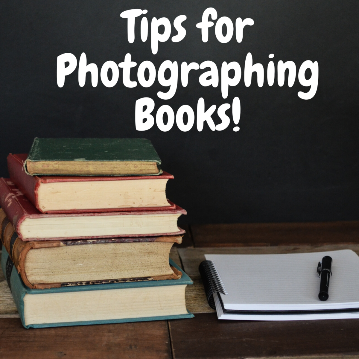 How to Photograph Books