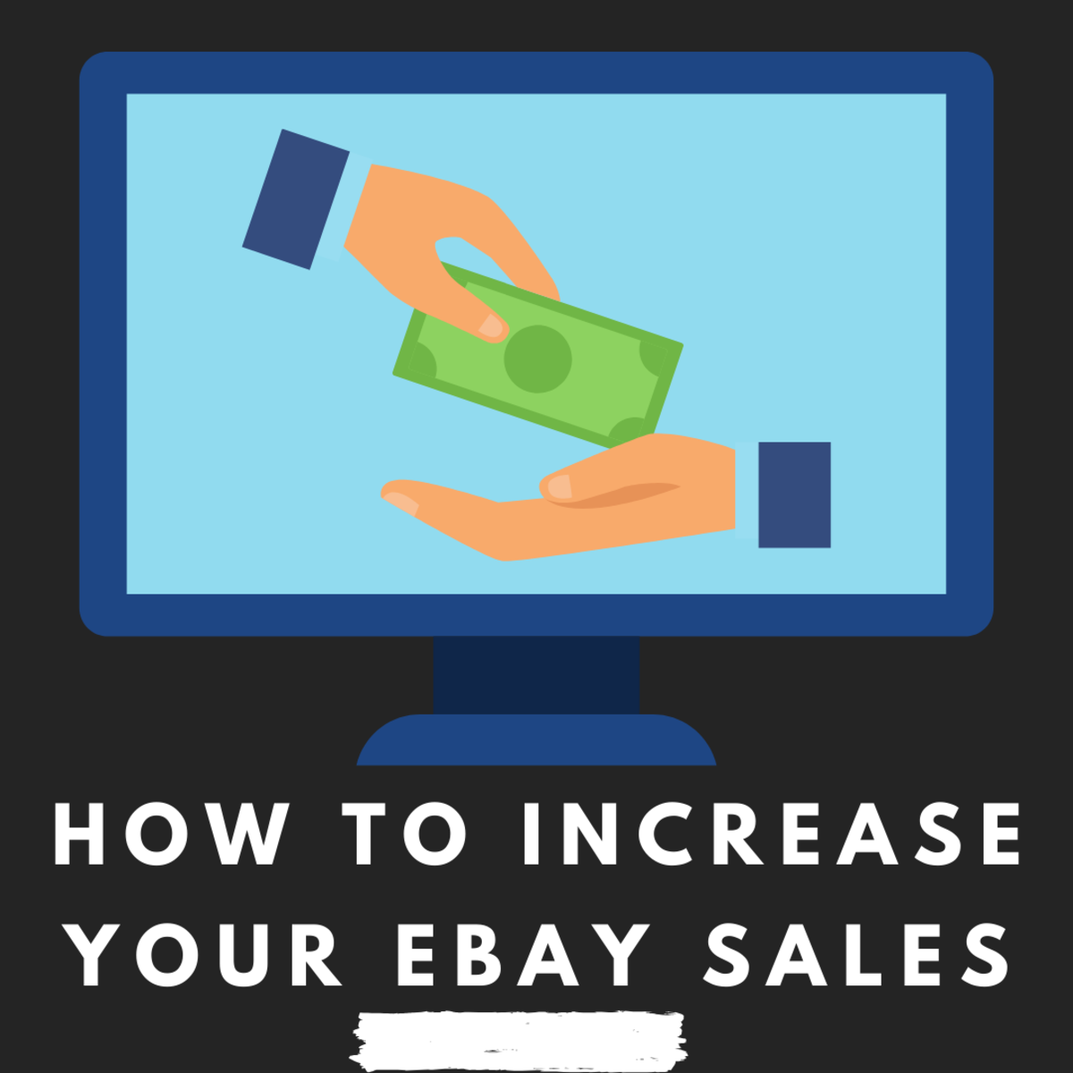 Learn how to increase your eBay sales to make extra money.