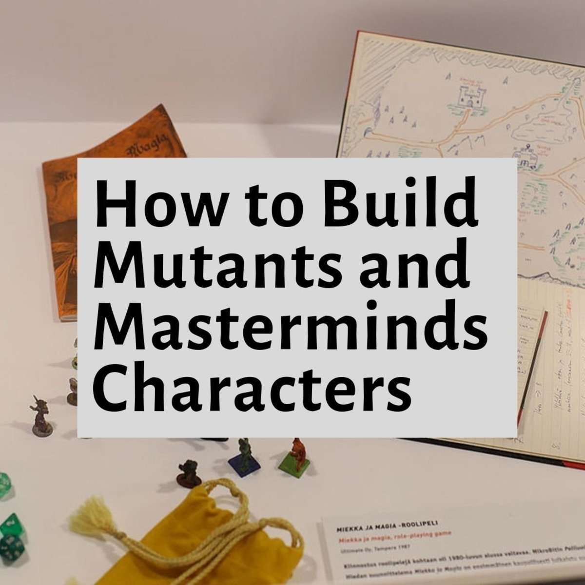 Five Tips for Building Mutants and Masterminds Characters