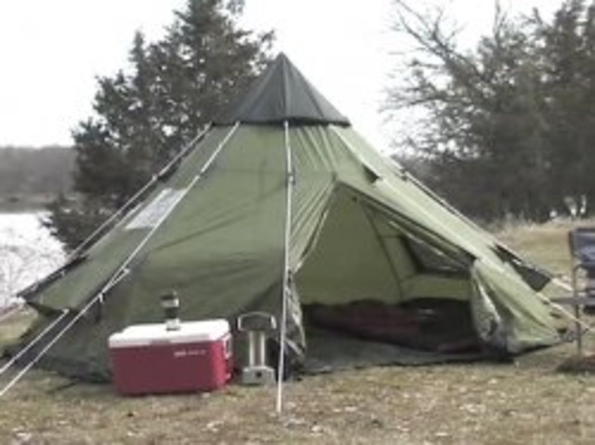 A Real-Life Review of Three Tents:  Guide Gear Teepee, Kelty Parthenon, and Coleman Red Canyon