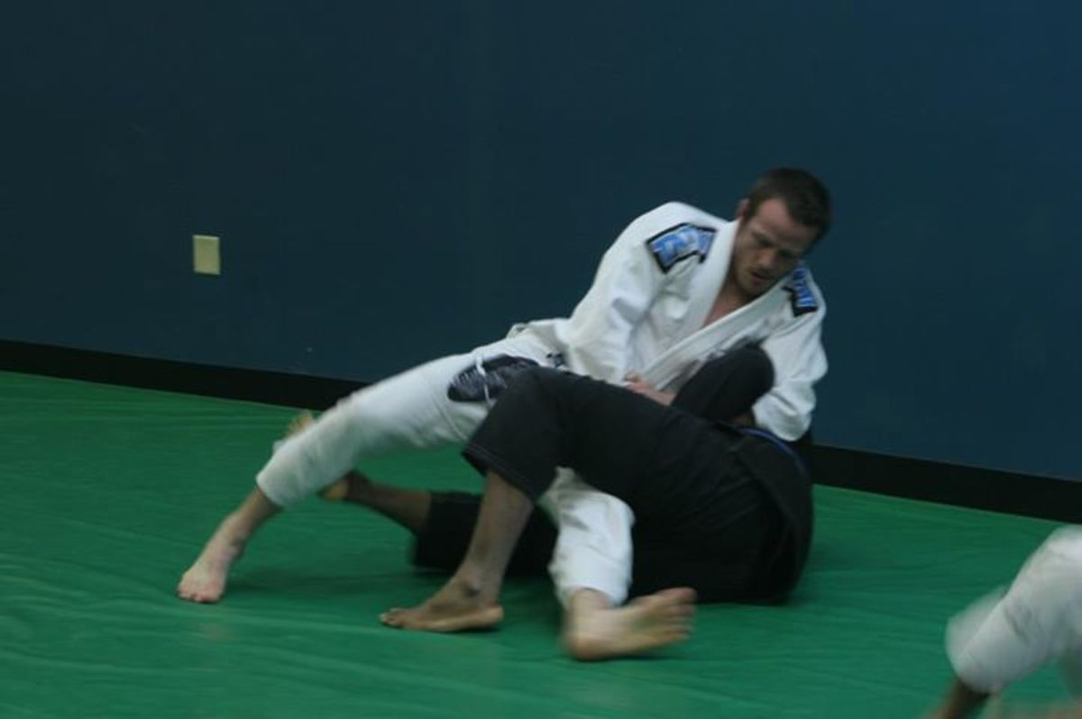 How to Pass the Guard Using the Kimura:  A BJJ Tutorial