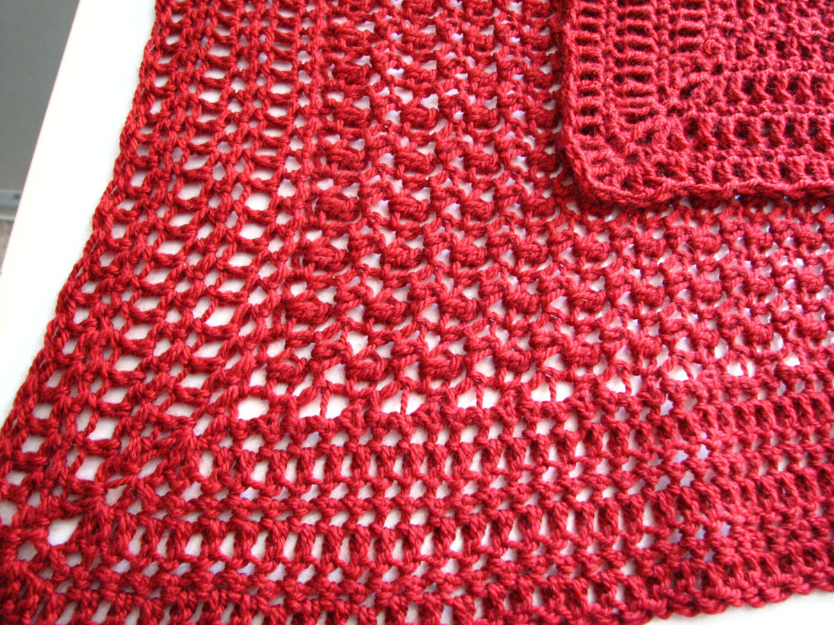 How to Crochet a Simple Lap Blanket