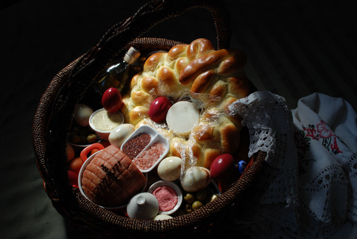 Our 2012 Easter basket.