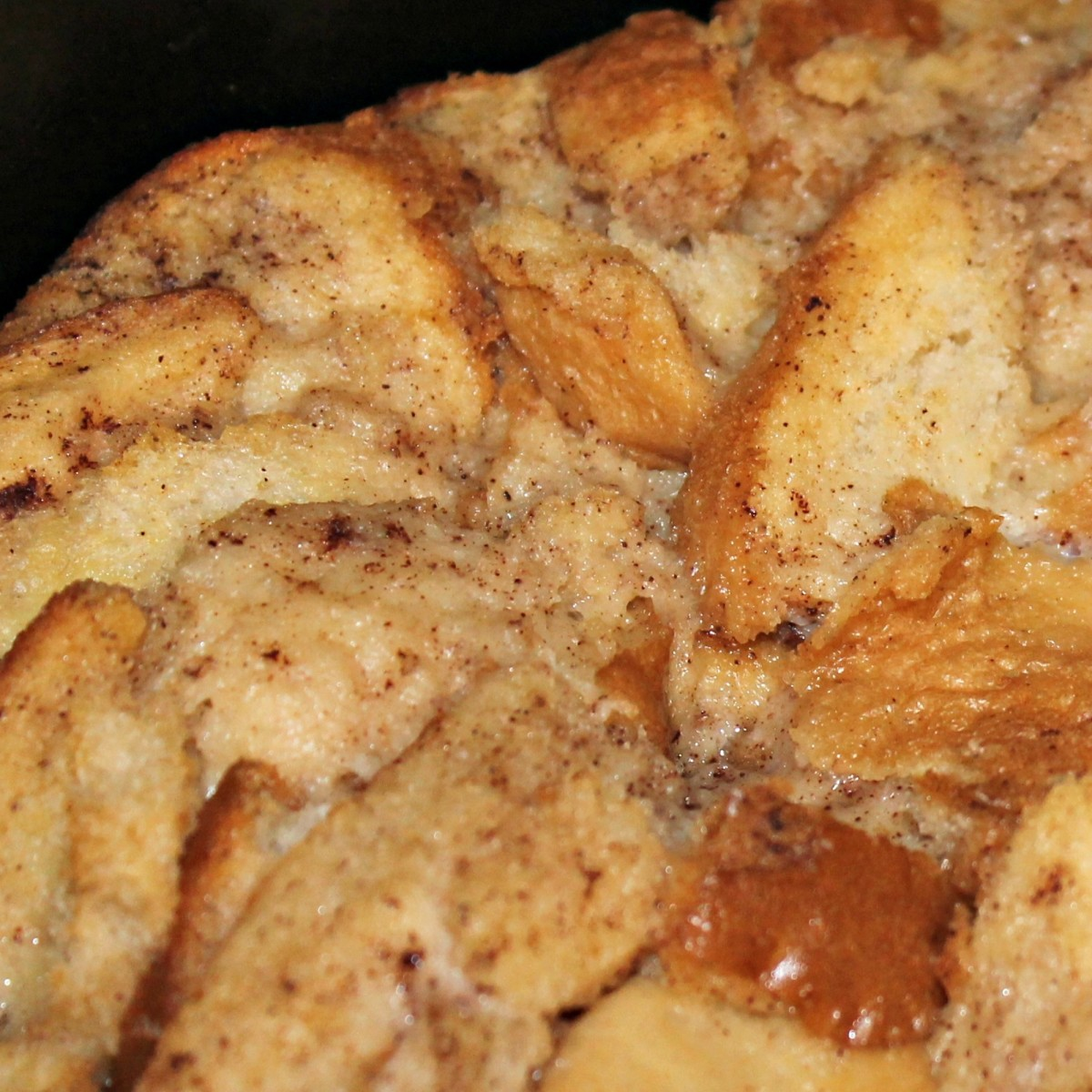 Photo of my Mom's Bread Pudding
