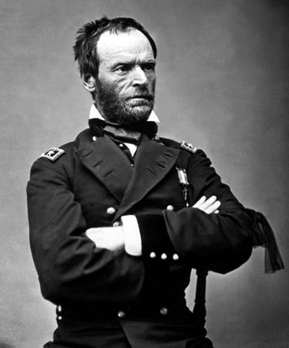 Why the South Loved General Sherman Before the Civil War