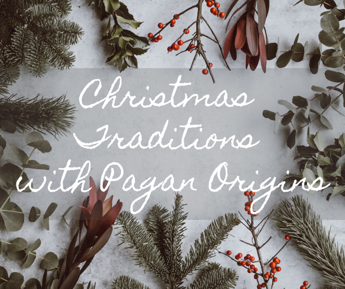 Many Christmas traditions do not derive from the Christian religion.