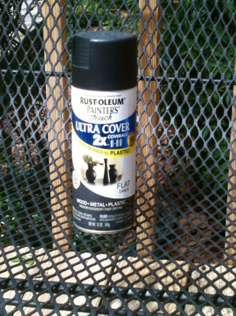 How To Spray Paint Wrought Iron Furniture