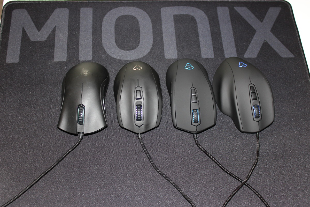 I've had my hands on just about every gaming mouse on the market. Below I've narrowed my favorites down to three. One for fingertip, palm, and claw grips.