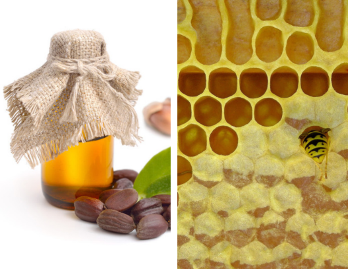 This wood conditioner is made from jojoba oil and beeswax.