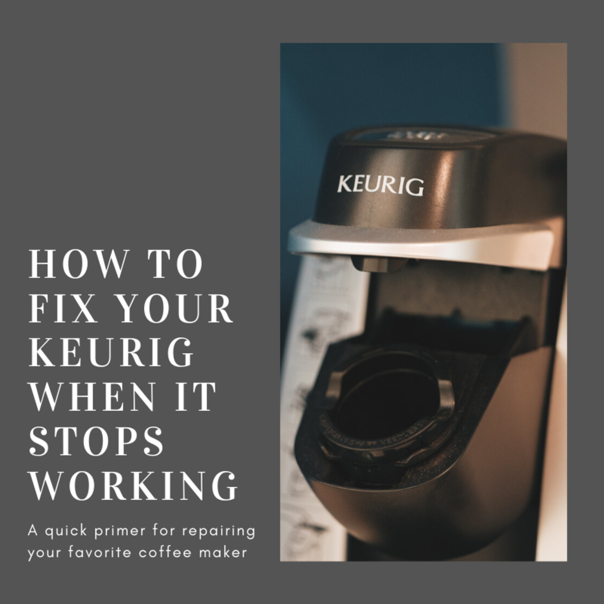 This guide will break down how to quickly repair your Keurig coffee maker.