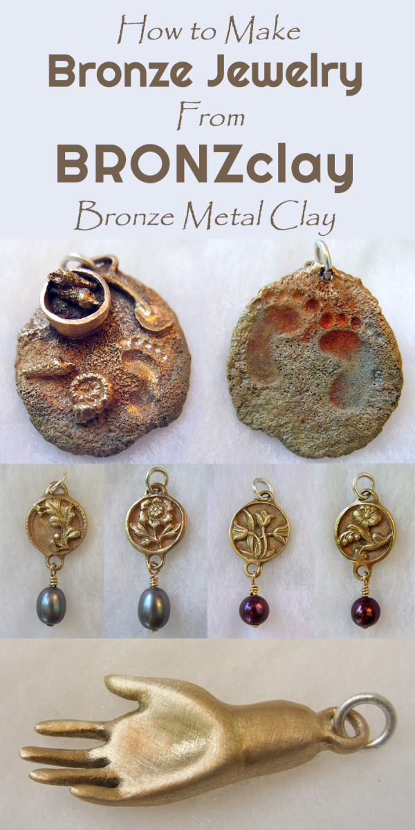 BRONZclay Bronze Metal Clay Jewelry Techniques