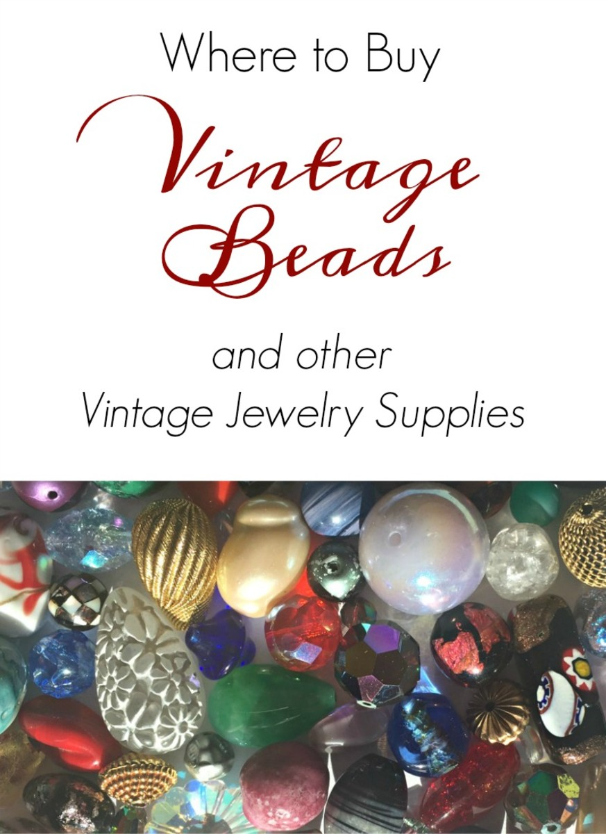 The Best Sources for Vintage Beads, Findings, and Jewelry Components