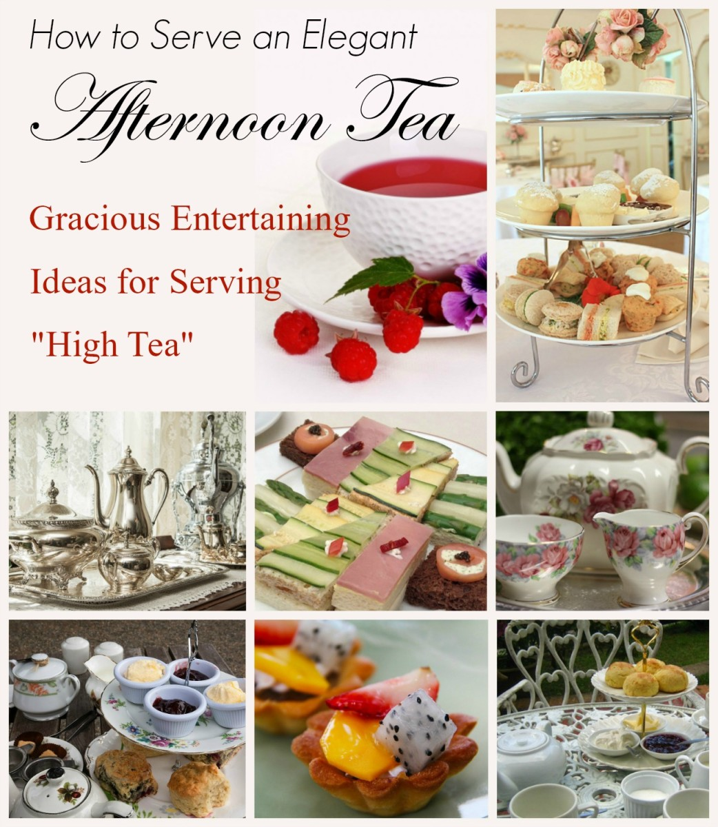 bf11d3c32039 Learn how to host a gracious casual or formal afternoon tea service with  these elegant entertaining