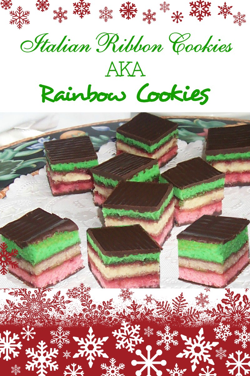 Best Recipe for Italian Ribbon Cookies (aka Neapolitan Slices)