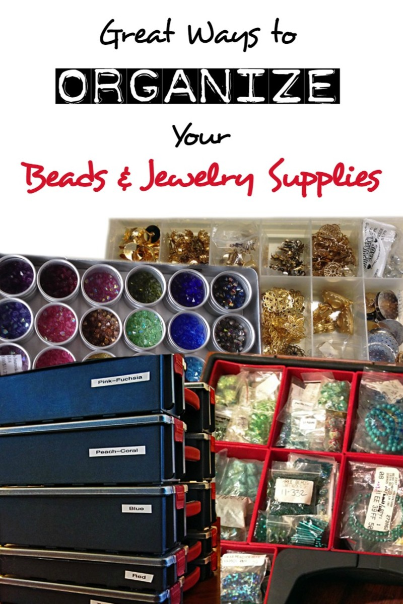 The best ways to organize and store beads and jewelry for Craft and jewelry supplies