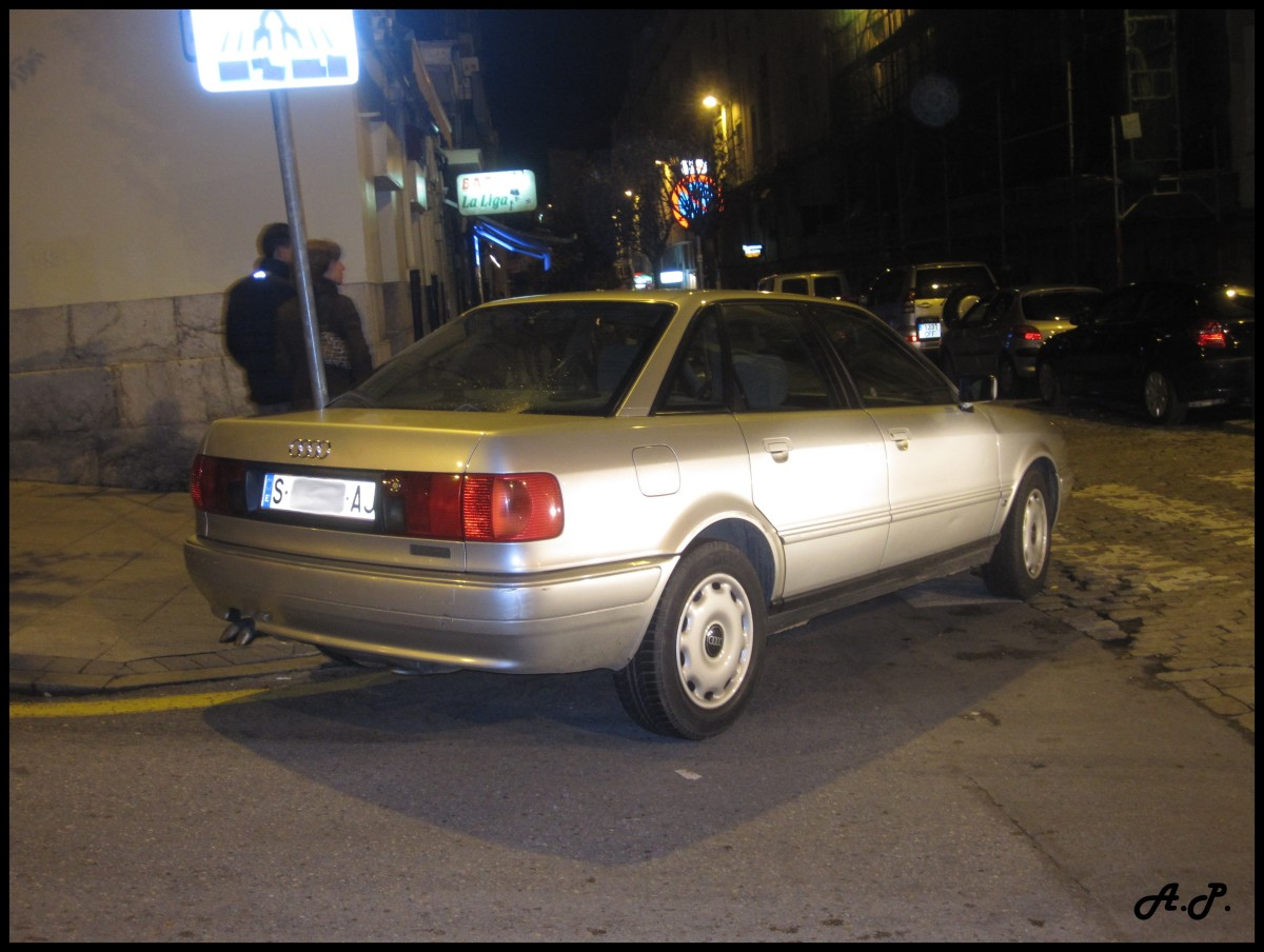 A French-made Audi 80