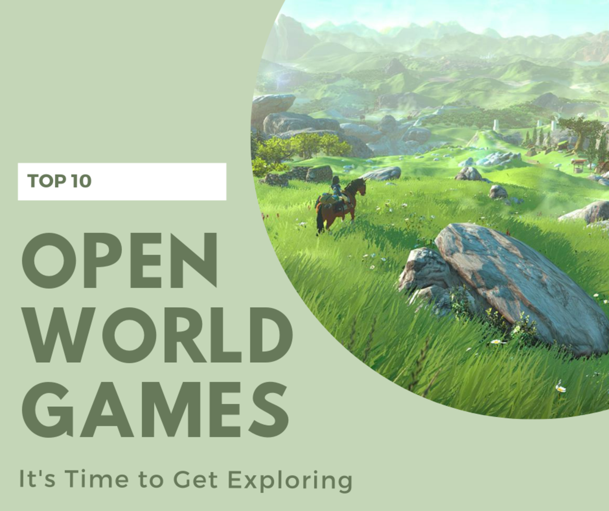 10 Best Open World Games on Xbox 360
