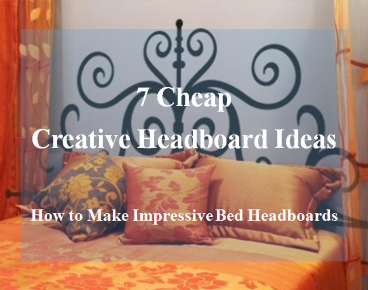 7 Cheap DIY Headboard Ideas: How to Make Creative and Affordable Headboards