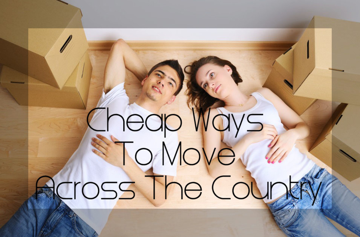 Cheap Ways to Move Across the Country