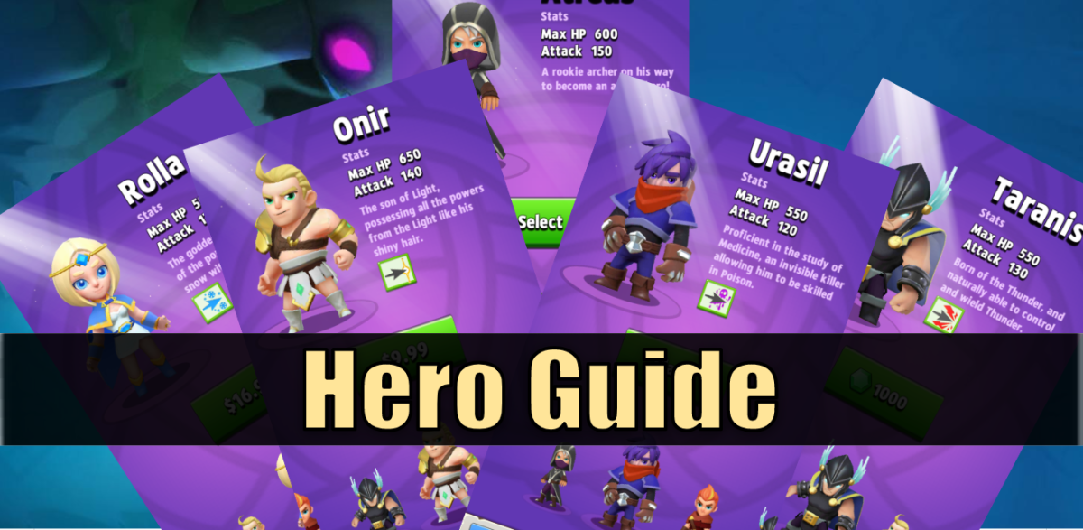 """Everything you need to know about Heroes in """"Archero"""""""