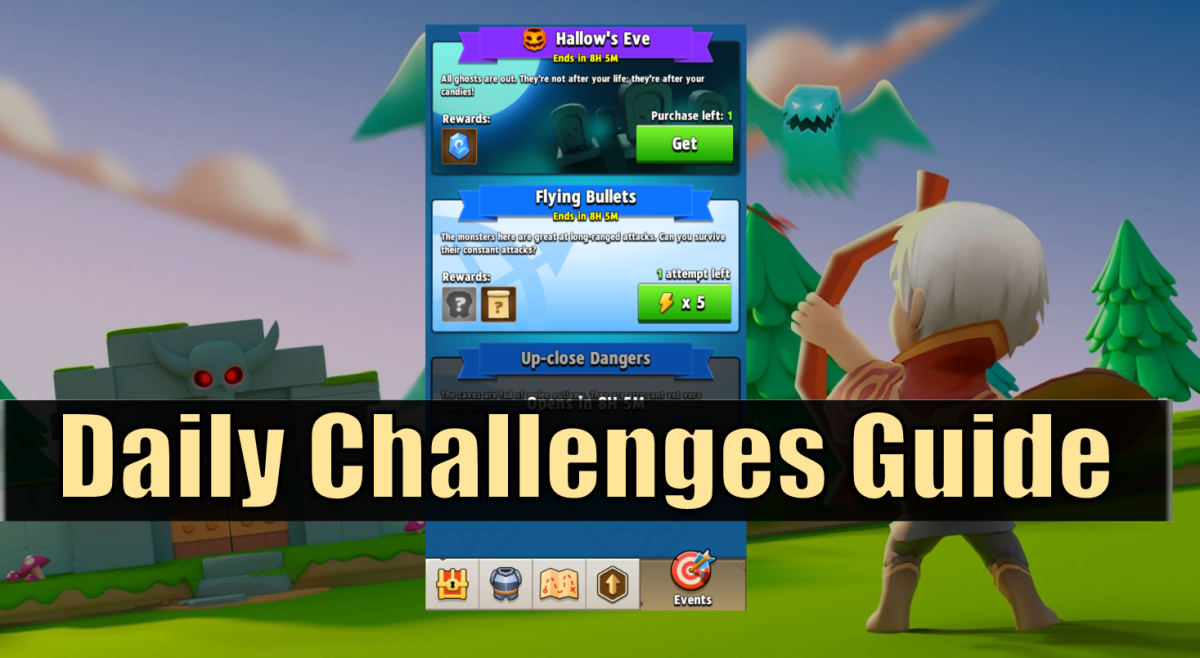 """Everything you need to know about the Daily Challenges feature in """"Archero"""""""