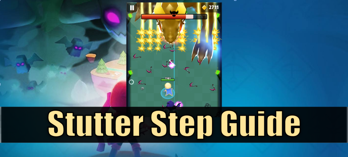 How to dramatically increase your attack speed by stutter stepping or tapping to cancel your attack animations.