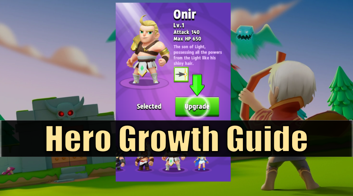 """Archero"" Hero Growth Guide"