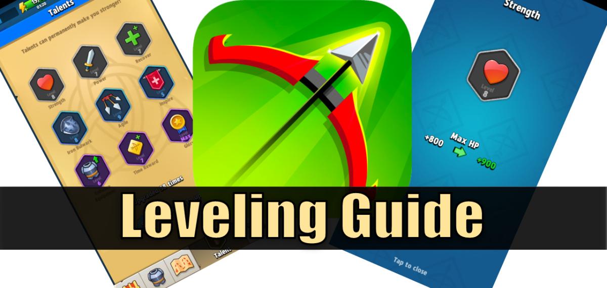 """""""Archero"""" Leveling Guide"""