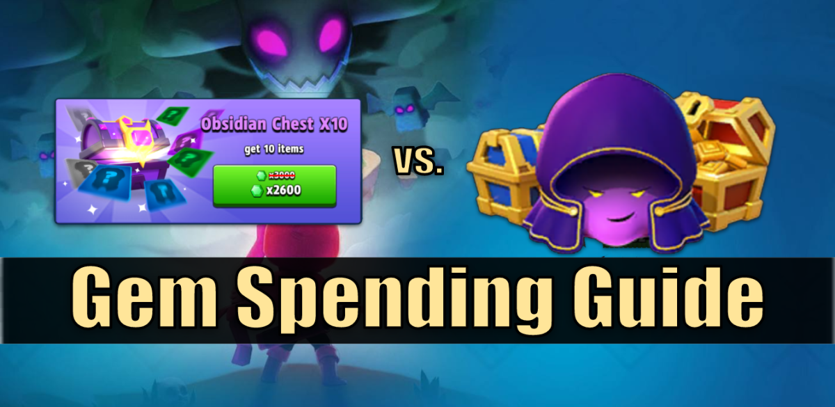 "Learn more about purchasing, farming, and spending gems in ""Archero."""