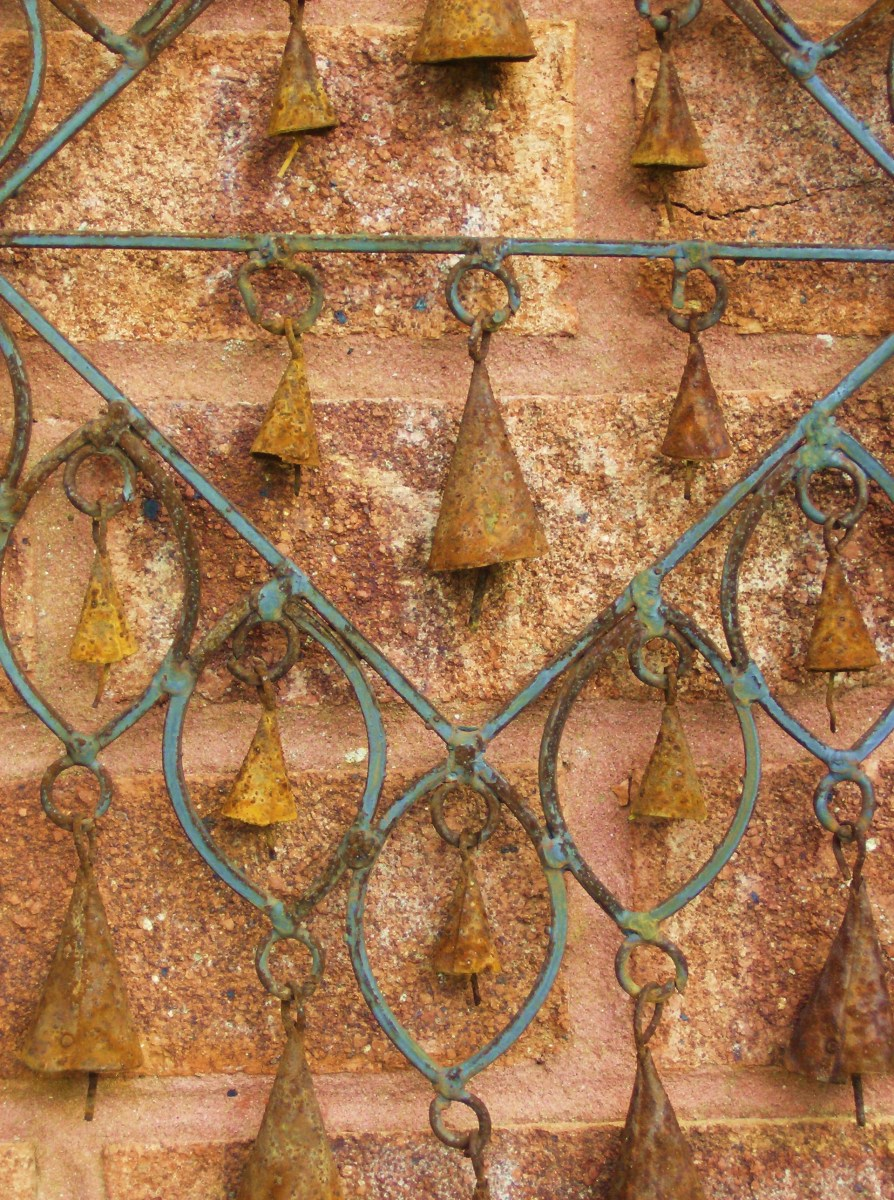Rusty Bells Windchime