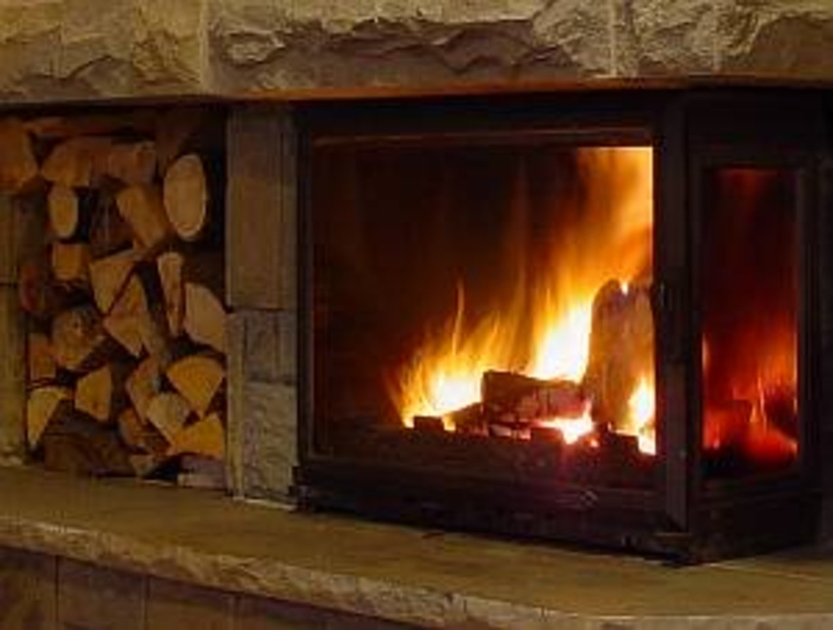 The Romance of a Real Wood Fire