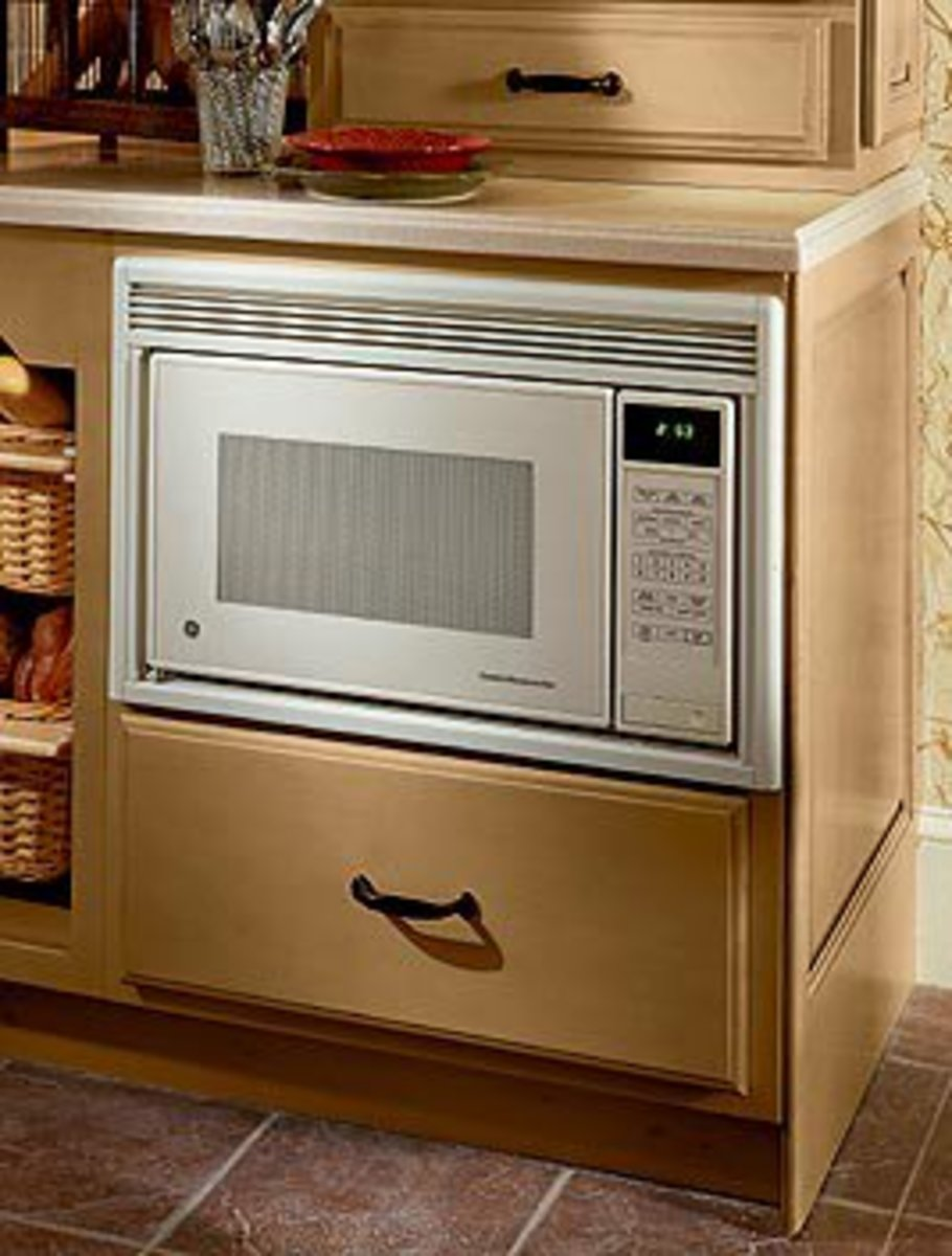Microwave Oven Under Counter Mount