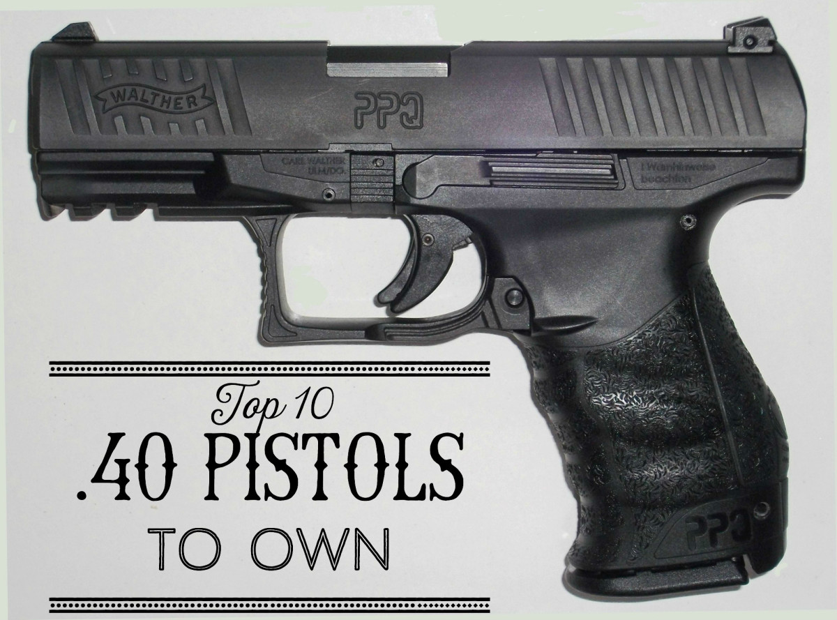 The Walther PPQ .40 pistol.