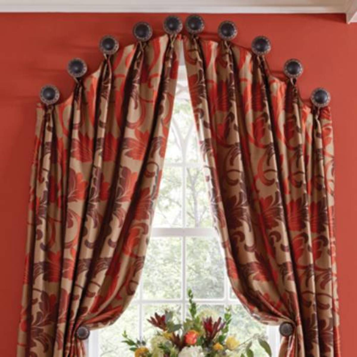 Best Curtain Solutions For Arched Windows Dengarden Home And Garden