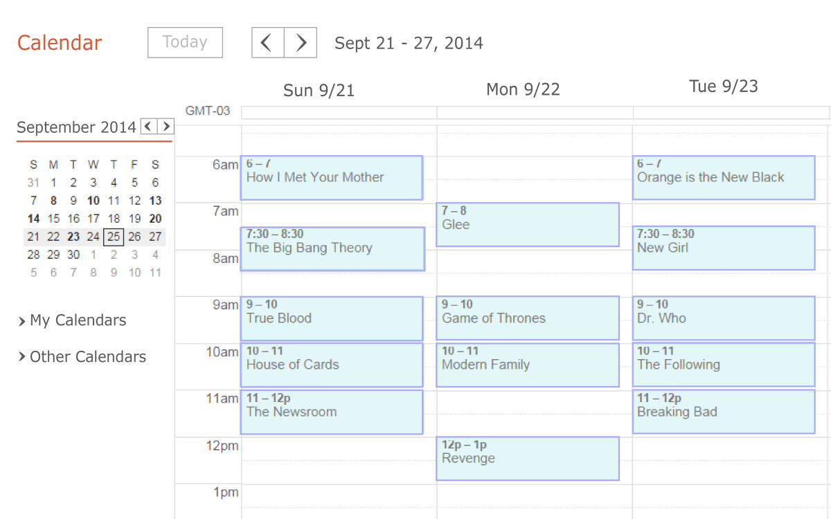 Does your daily schedule revolve around television shows and other at-home activities?