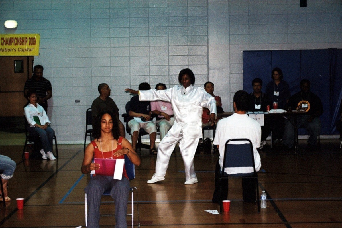 2009 First Tournament/ 24 movement form/  Luo Kwang Lu Heritage All Kung Fu Championship in Washington, DC