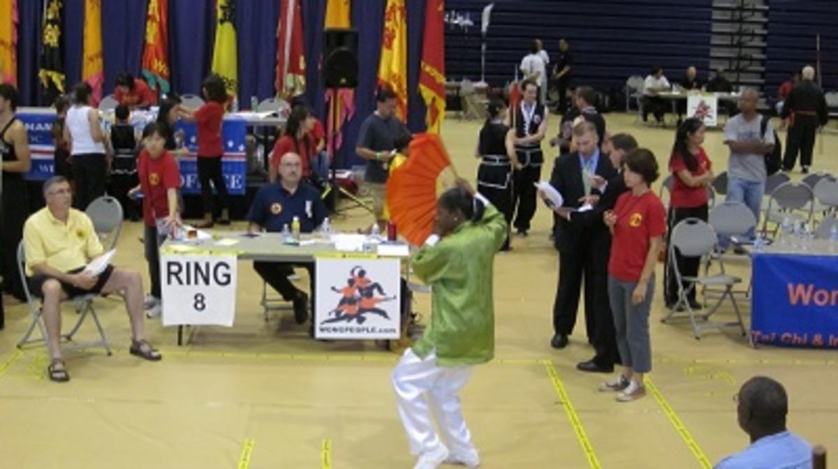 Tai Chi Fan Form/2011 Wong People Tournament Washington, DC