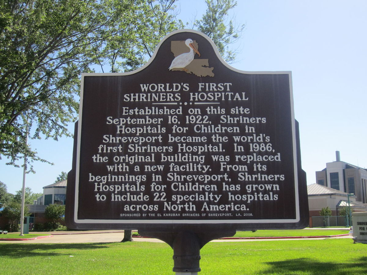 Shriner's Hospitals are famous for their pediatric burn units.