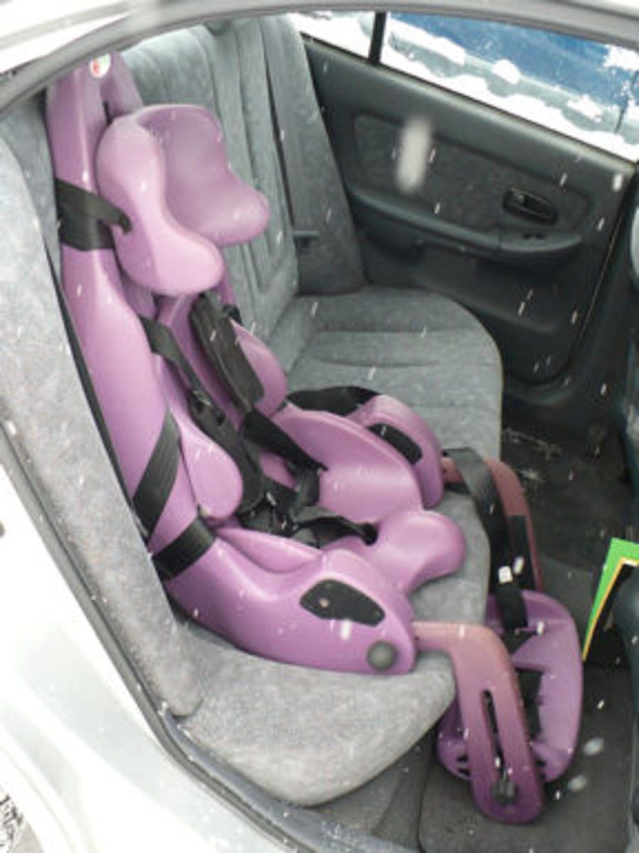 The special tomato adaptive car seat