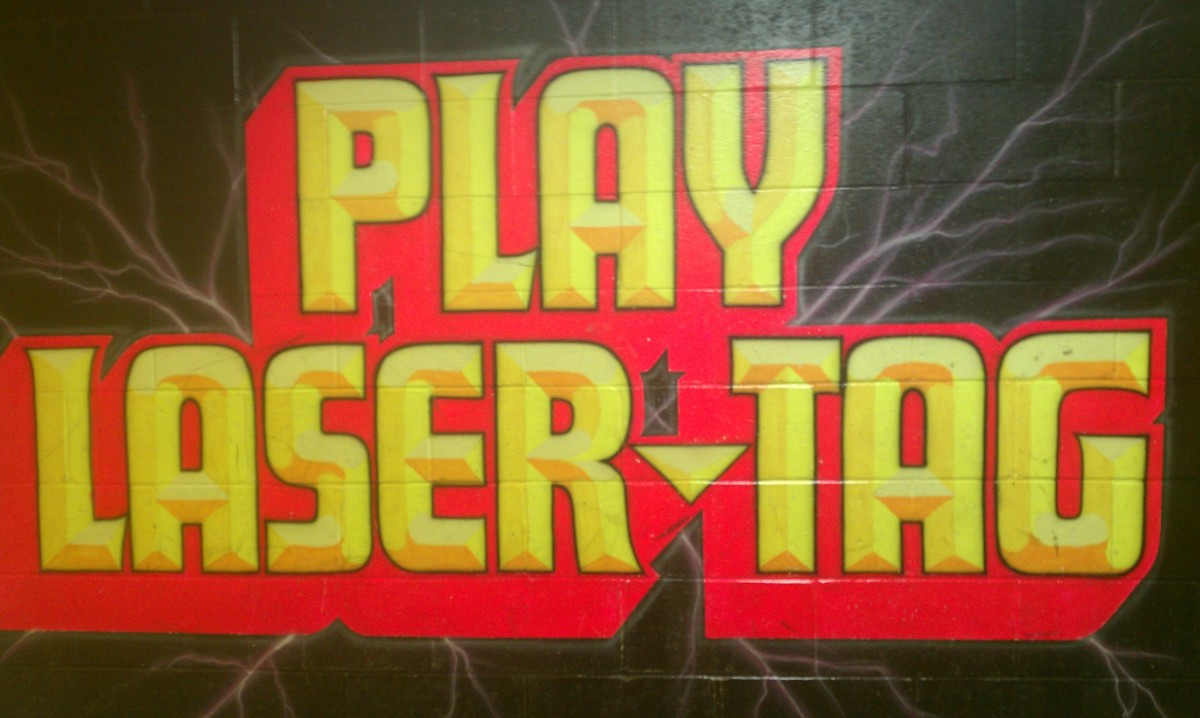 Laser Tag is a lot more fun than you might expect, even with co-workers.
