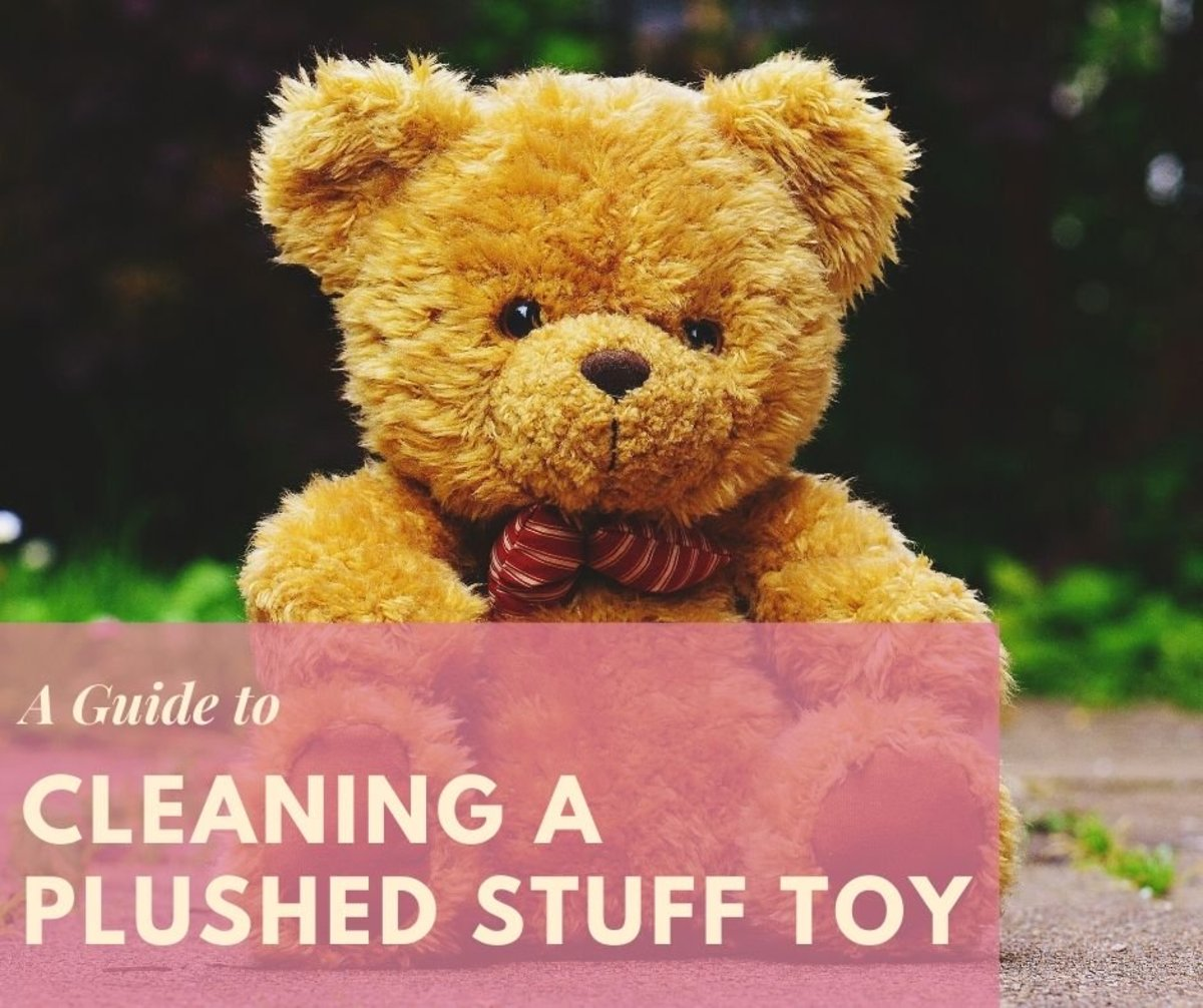 How to Clean Plush Stuffed Toys