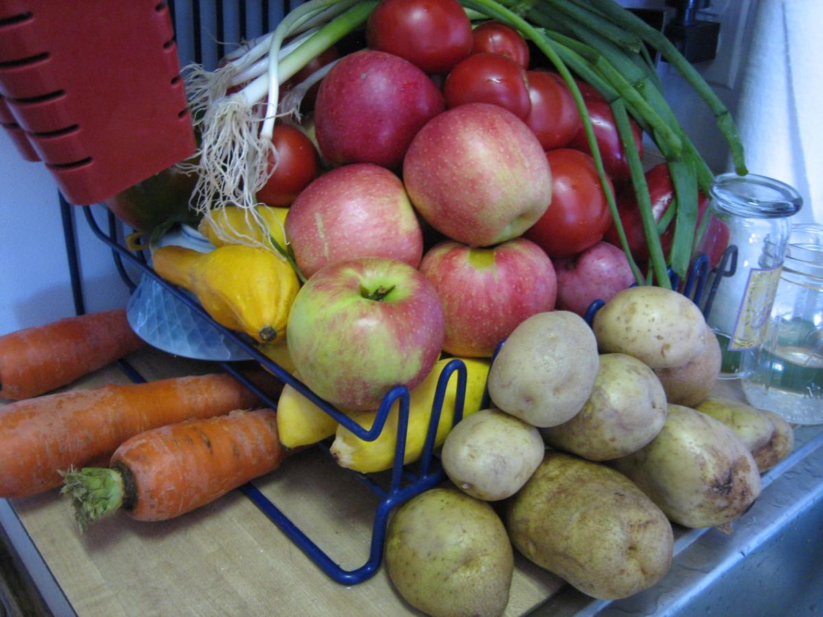 Fresh, organic vegetables