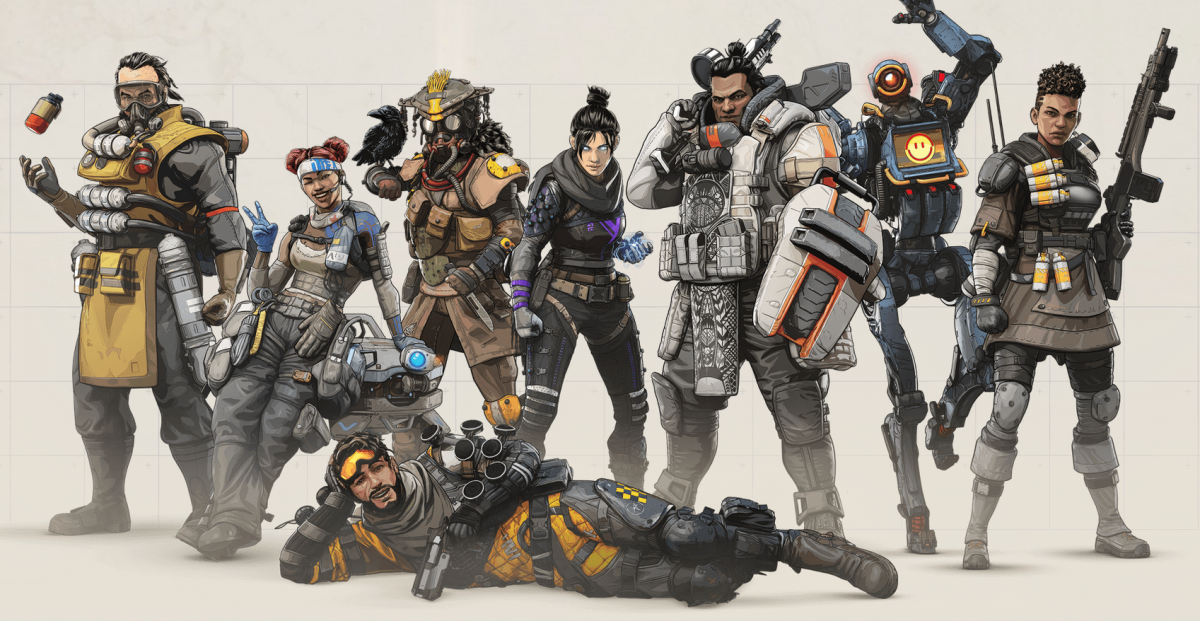 """Apex Legends"" Character Guide for Newbies (First Four Starting Legends)"