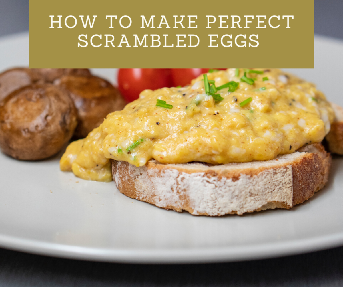 How to Make Perfect Scrambled Eggs Without a Nonstick Pan