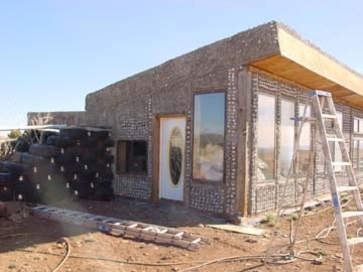 Exterior stucco.
