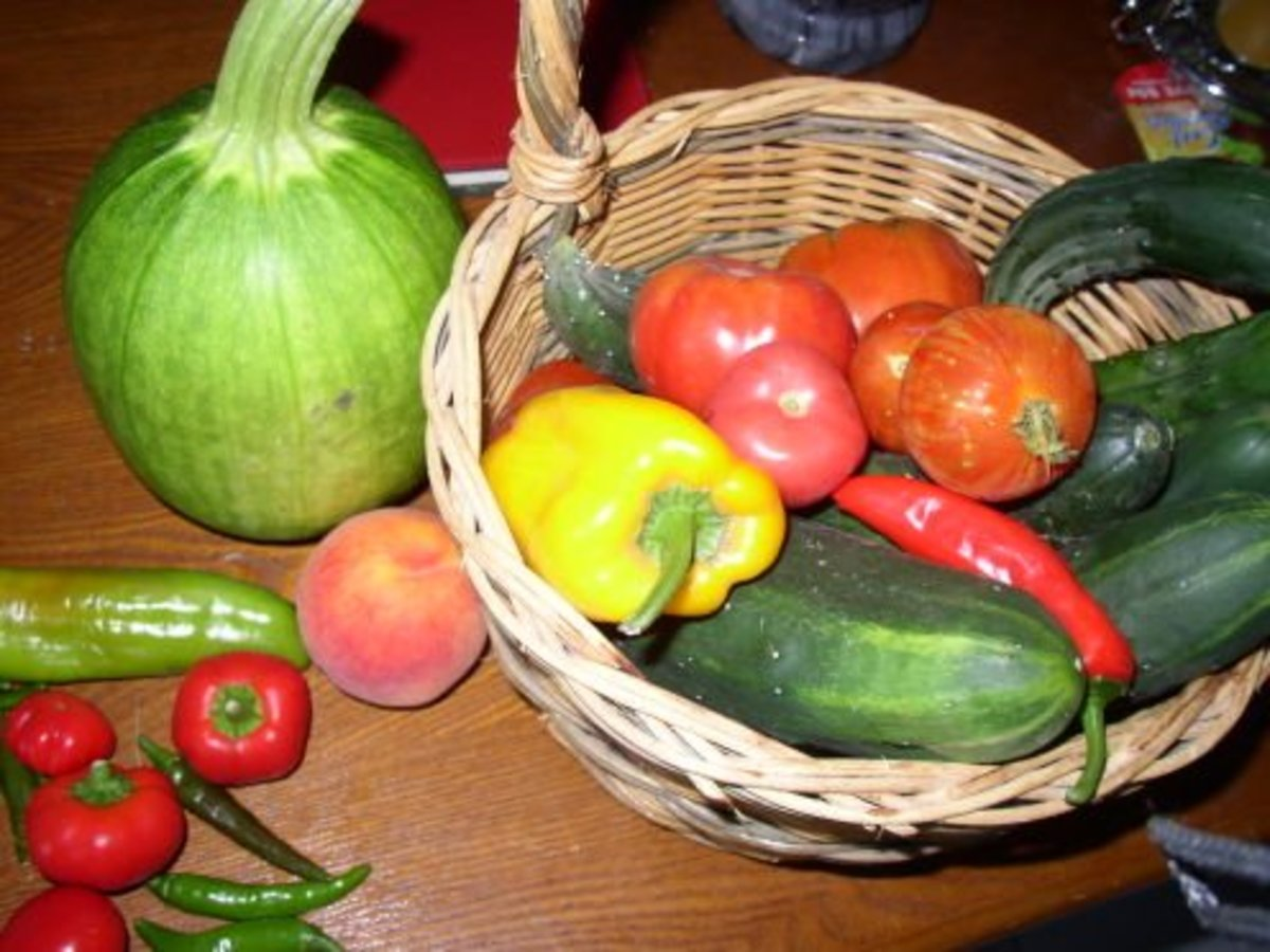 Great Homegrown Vegetables