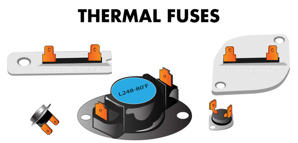 Your thermal fuse might look like this