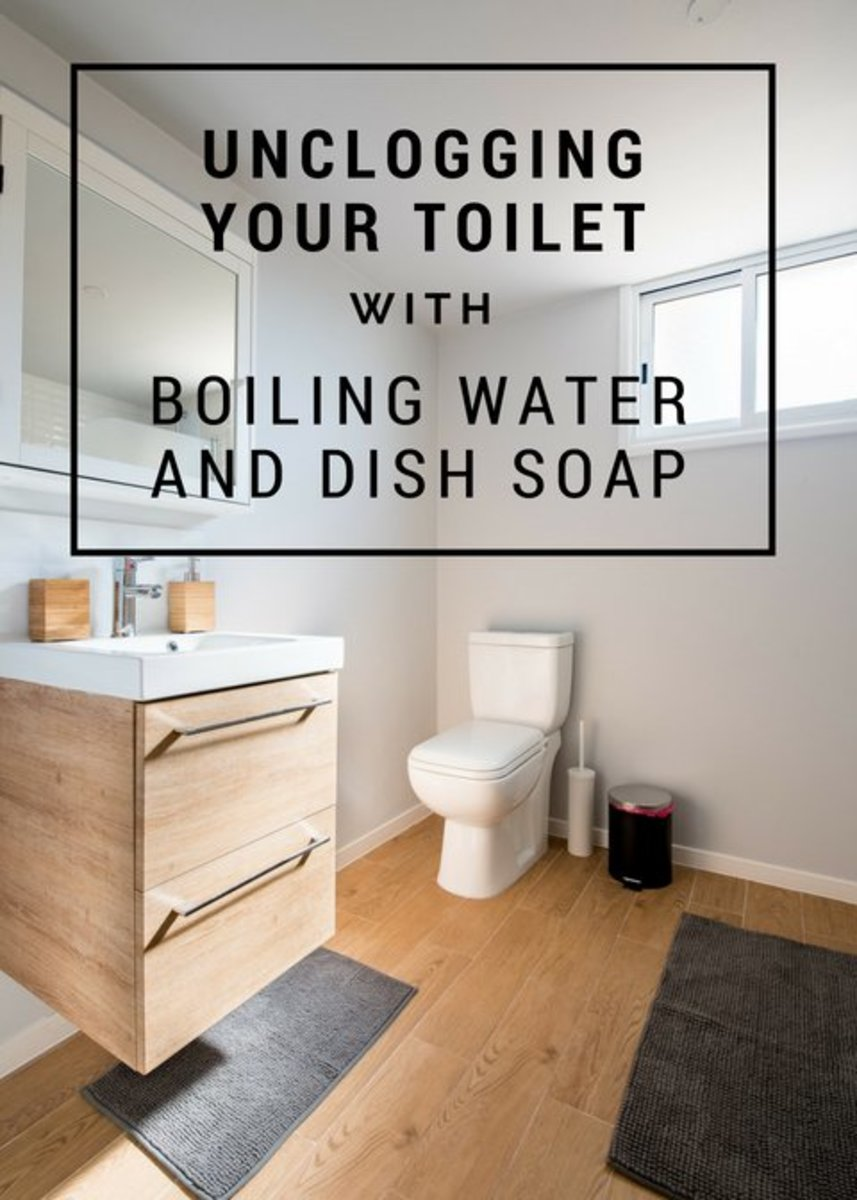 How To Unclog Your Toilet Without A Plunger Or Crazy Chemicals Dengarden Home And Garden
